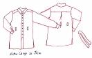 Schnittmuster-Entwurf Tunika Bluse