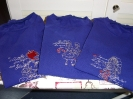 3 Shirts in blau mit Märchenmotiven
