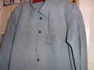 Jeans Hemd - Stickerei auf der Brusttasche